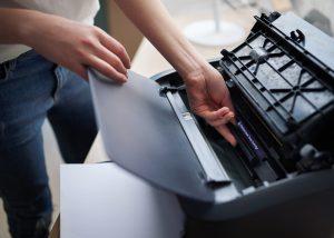 Drucker Toner Tinte Patrone tauschen