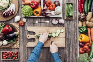 kochmesser schneiden lebensmittel gemüse klinge