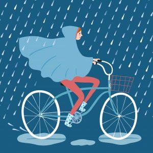 regenponcho fahrrad
