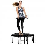 trampolin mit griff und stange