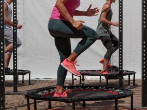 trampolin springen sport