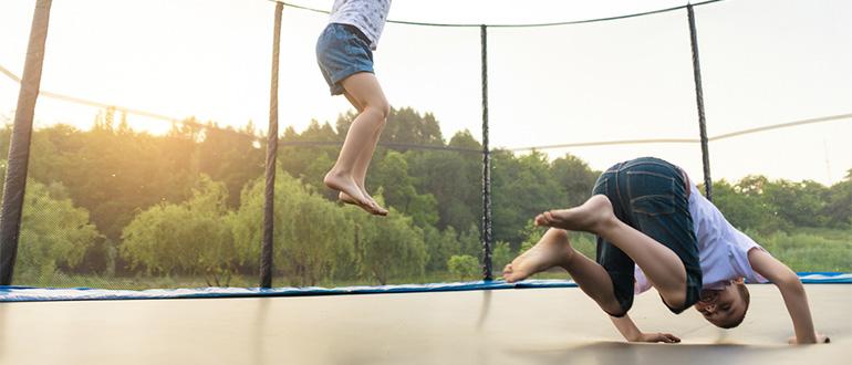 trampolin-test