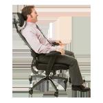 Dynamische Rückenlehne