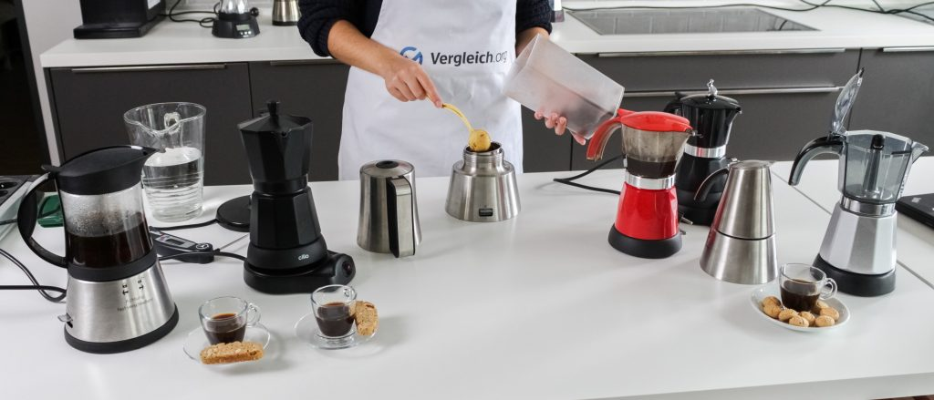 Espressomaschinen im Vergleich.BILD.de-Test.