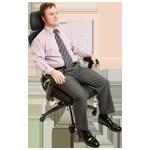 Sitzhöhe Bürostuhl