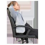 Sitztiefe-Stuhl
